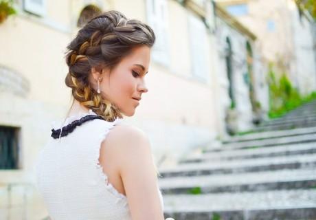 Кератинова терапия + ароматерапия за коса + брюлаж и плитка от фризьорски салон Меджик Вижън, София