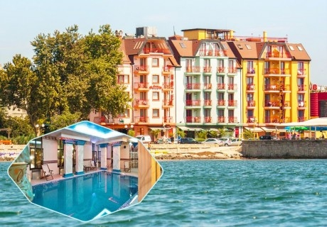 Ранни записвания за ТОП СЕЗОН в Поморие! 3+ нощувки на човек със закуски + басейн и СПА в хотел Сейнт Джордж****