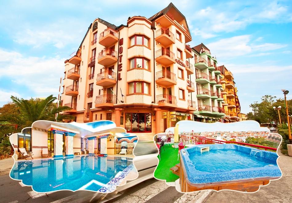 Септември в Поморие! 3+ нощувки на човек със закуски + басейн и СПА в хотел Сейнт Джордж****