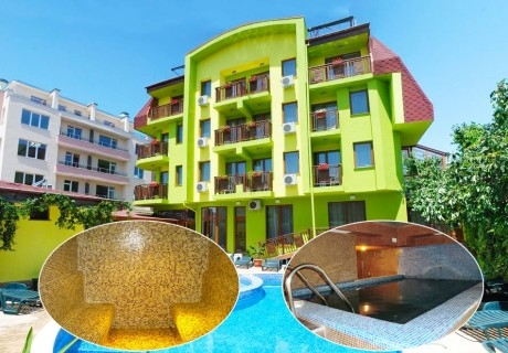 Майски празници в Хисаря! 2 или 3 нощувки на човек със закуски + басейн и уелнес пакет в Хотел Грийн Хисар