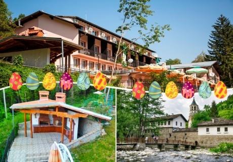 Великден до Дряновски манастир! 3 нощувки на човек + 3 закуски, 2 обяда и 3 вечери, едната празнична в Комплекс Поп Харитон