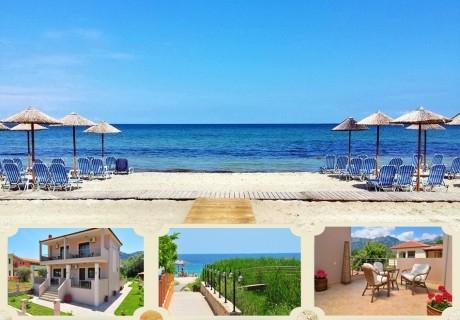ТОП сезон на плажа в Скала Панагия, Тасос, Гърция! Нощувка в студио за двама, трима,четирима или шестима в Amaryllis Studios