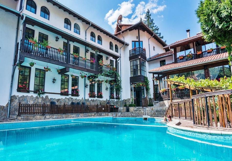 Лято край Троян с минерална вода. 3, 5 или 7 нощувки на човек със закуски и вечери + басейн и релакс пакет в хотел Алфаризорт Чифлика