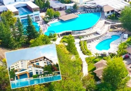 Делник в Сандански. 2, 3 или 4 нощувки на човек със закуски + МИНЕРАЛЕН басейн и СПА пакет в хотел Медите СПА Резорт*****