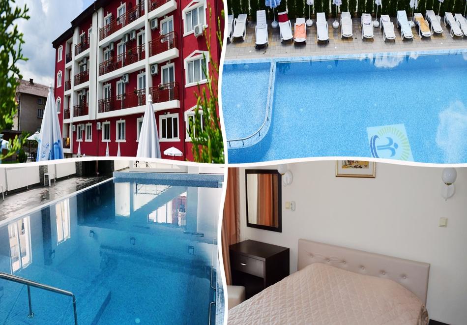 Почивка във Вършец! 2 или 3 нощувки на човек със закуски, обеди* и вечери, масаж* + вътрешен и външен минерален басейн от Балнеохотел Тинтява