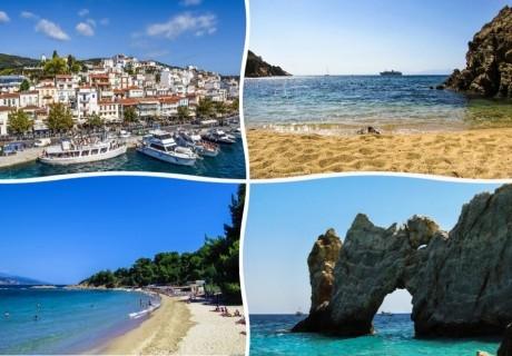 Ранни записвания за почивка през септември, о. Скиатос, Гърция! Транспорт + 3 нощувки със закуски на човек от туристическа агенцията Трипс Ту Гоу