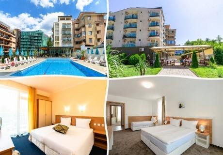 Нощувка на човек на база All Inclusive в хотел Свети Димитър, Приморско