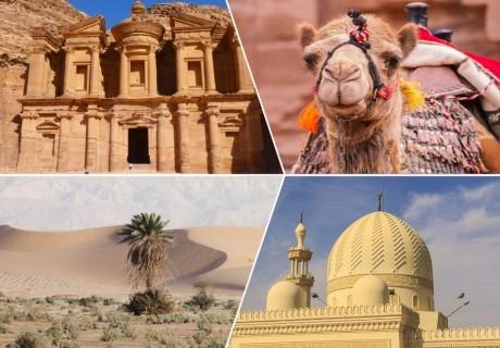 Посетете Йордания! Самолетен билет за един човек + 4 нощувки със закуски и вечери + посещение на Вади Рум и Петра на промо цени от Далла Турс