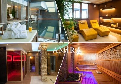 Делник в Банско! Нощувка на човек със закуска и вечеря* + басейн и релакс зона от хотел Амира****