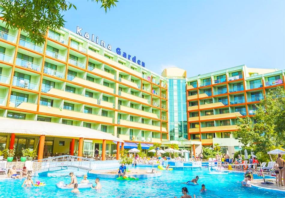 Нощувка на човек на база All Inclusive Premium + басейн от МПМ хотел МПМ Калина Гардън в Слънчев бряг