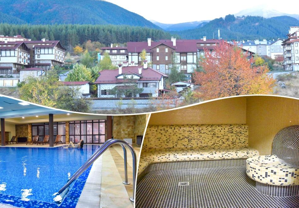 3, 4, 5, 6 или 7 нощувки на човек на база All Inclusive light + релакс зона и отопляем вътрешен басейн от хотел Роял Банско Апартмънтс, Банско