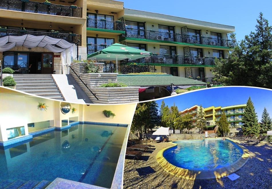 Балнеопакет с 10 процедури + 5 нощувки за ДВАМА на база All inclusive + 2 минерални басейна от хотел Виталис, к.к. Пчелински бани до Костенец