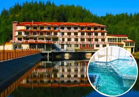 Уикенд в Родопите! 2 нощувки на човек със закуски + басейн, релакс зона и безплатен риболов от хотел Кремен, Кърджали