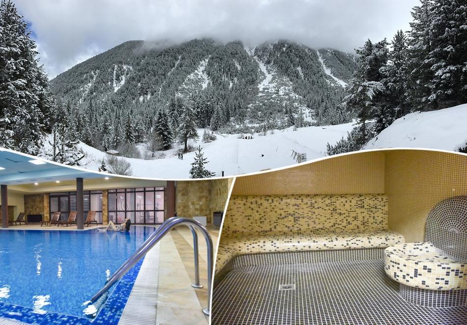 СКИ почивка в Банско! 3, 4, 5, 6 или 7 нощувки на човек на база All Inclusive light + отопляем вътрешен басейн и релакс зона от хотел Роял Банско Апартмънтс