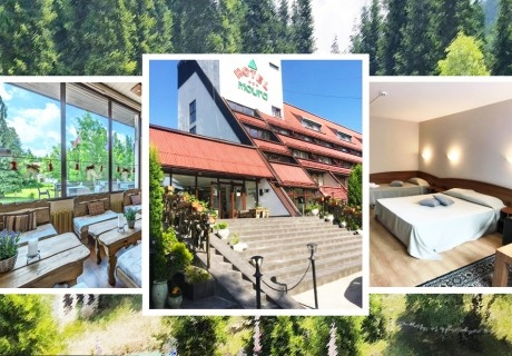 1, 2, 3 или 5 нощувки на човек със закуска и вечеря * + сауна в хотел Мура***, Боровец