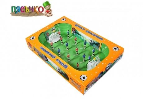 Футболна игра с пружинки Шампиони - страхотно забавление за децата от онлайн магазин Пясъчко