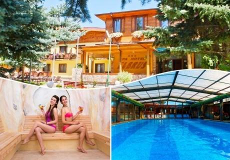 СПА почивка във Велинград! Нощувка на човек със закуска и вечеря + 3 МИНЕРАЛНИ басейна и релакс зона в хотел Елбрус***