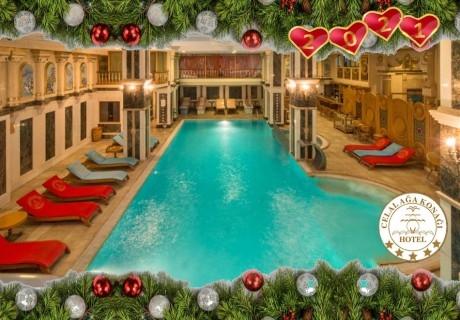 Нова година в Истанбул, хотел Celal Aga Konagi Hotel & SPA*****. 3 нощувки на човек със закуски и СПА + доплащане за новогодишна вечеря от ТА Далла Турс