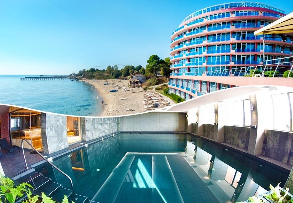 През Октомври на ПЪРВА ЛИНИЯ в Константин и Елена. Нощувка на човек на база All Inclusive + плаж пред хотела + 2 минерални басейна в хотел Сириус Бийч****