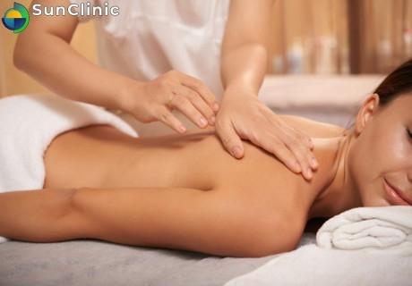 Кинезитерапия и масаж на цяло тяло 50 мин. само за 30лв. от SunClinic, София