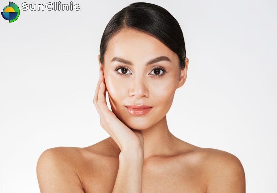 Ултразвуково почистване на лице при мазна кожа, широки пори и черни точки само за 30лв. от SunClinic, София