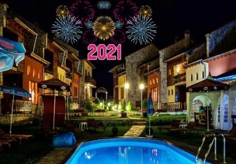 Нова година в Цигов Чарк! 2 или 3 нощувки на човек със закуски и вечери, едната празнична, във вилно селище Вивиана