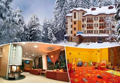 8 Декември в Боровец! 2 нощувки на човек със закуски + празнична вечеря в хотел Вила Парк