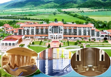 Уикенд в хотел Риу Правец! Нощувка със закуска и вечеря за ДВАМА + басейн, СПА и голф пакет