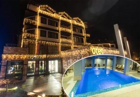 2+ нощувки на човек със закуска + басейн и уелнес център  в бутиков хотел Орес*****, Банско! 6=7 нощувки