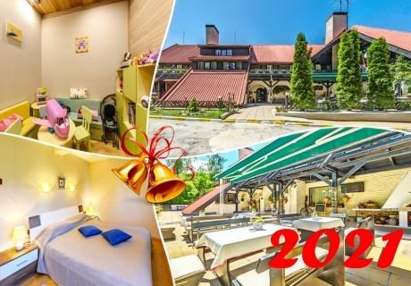 Нова година в Боровец! 3, 4 или 5 нощувки на човек със закуски и вечери* + празничен куверт и релакс зона в хотел Бреза***