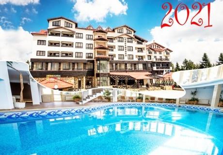 Ранни записвания за Нова година в Пампорово! 3 или 4 нощувки на човек със закуски и вечери, едната празнична + басейн и сауна в хотел Снежанка