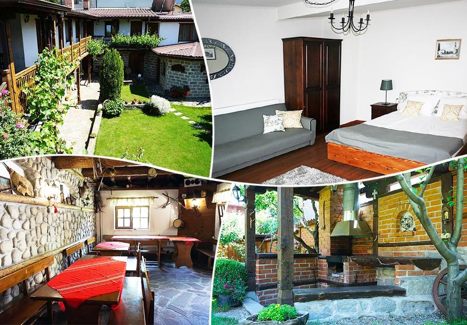 1 нощувка в самостоятелна къща до 18 човека и ползване на механа от Къща за гости Клечерова, Банско
