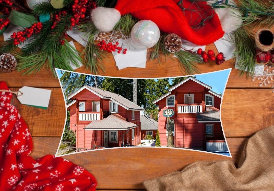 Коледа в Боровец! 3 нощувки на човек със закуски + празнична вечеря, от Вили Алпин****