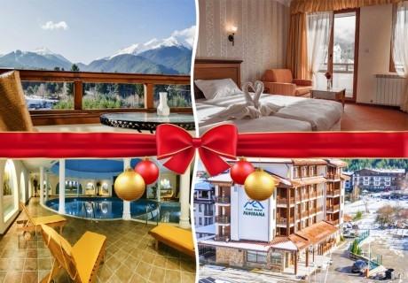 Коледа в Банско! 2 или 3 нощувка на човек със закуски и вечери + басейн и сауна в Парк хотел Панорама