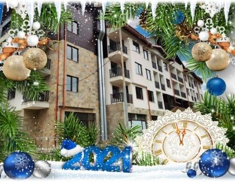 Нова година в Боровец! 3 нощувки на човек със закуски и вечери, едната празнична + сауна и джакузи в Боровец Грийн хотел****