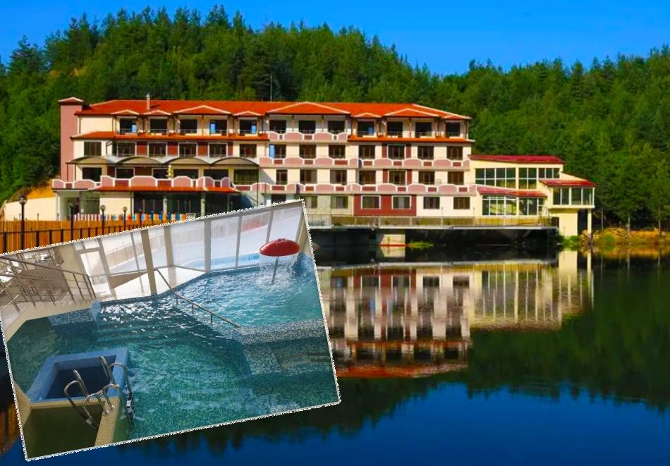 Уикенд в Родопите! 2 нощувки на човек със закуски + басейн, релакс зона и риболов от хотел Кремен, Кърджали. 2 деца до 12г. - безплатно
