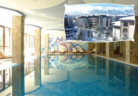 Уикенд в Банско! Нощувка на човек със закуска, вечеря по желание + басейн и релакс зона в хотел Уинслоу Инфинити, Банско