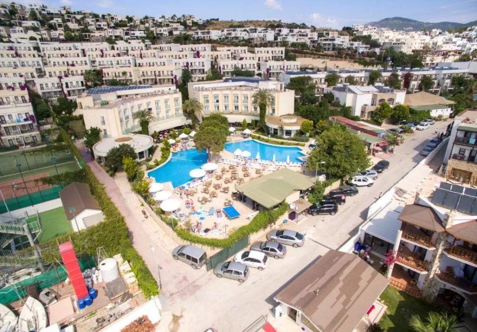 5 нощувки на човек на база Ultra all Inclusive + басейн от хотел Аyaz Аqua****, Бодрум, Турция. Дете до 12.99г. - БЕЗПЛАТНО, от Ариес Холидейз