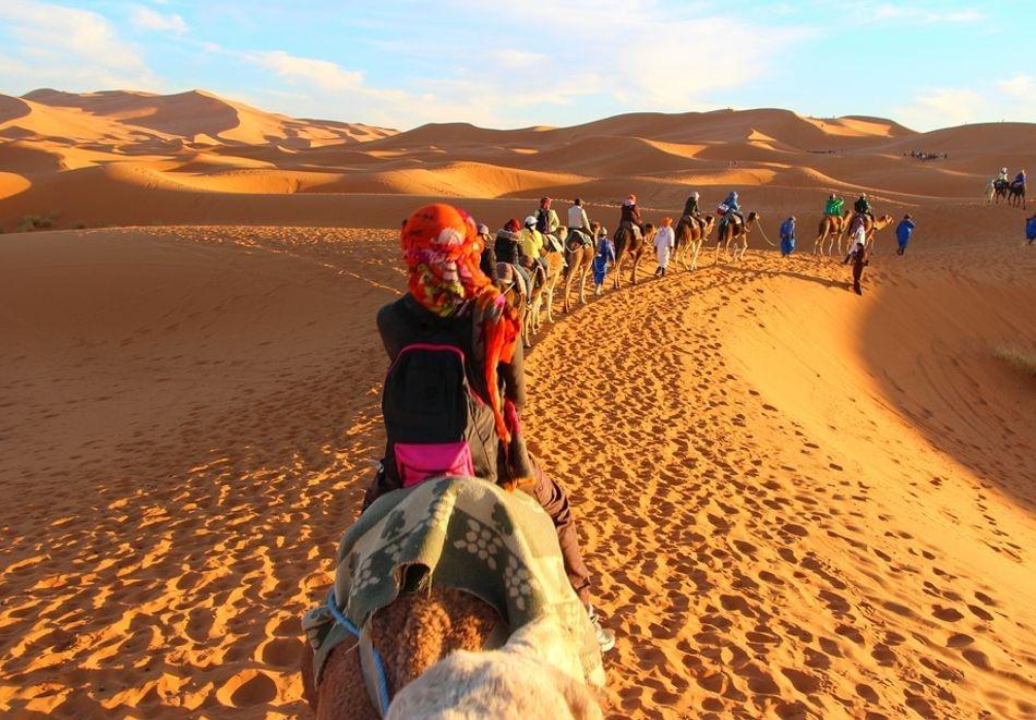 Екскурзия до Мароко. Двупосочен самолетен билет + 6 нощувки на човек със закуски и вечери от ТА България Травъл