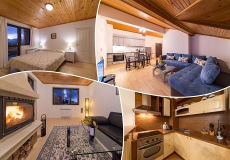 Нощувка в апартамент за четирима в Апартаменти за гости в Пампорово
