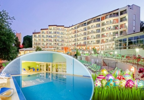 Великден в Златни пясъци! 2 нощувки на човек на база All Inclusive + басейн в хотел Мадара**** . Дете до 12г. - безплатно