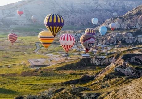 Самолетна екскурзия до Анталия и Кападокия