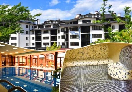 3, 5, или 7 нощувки на човек + отопляем вътрешен басейн и релакс зона от хотел Роял Банско Апартмънтс. Дете до 12 г. - безплатно