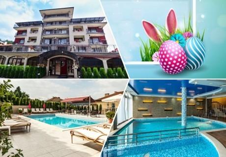 Великден и Майски празници в хотел Енира****, Велинград! 3 или 4 нощувки за ДВАМА или ЧЕТИРИМА със закуски и вечери + открит и закрит минерален басейн и релакс пакет