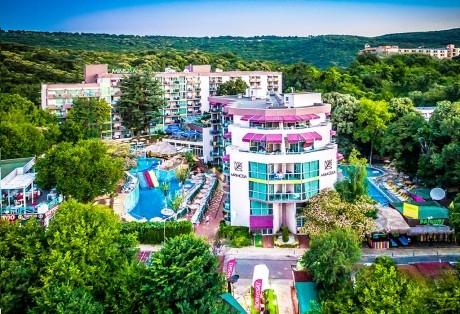 Великден в Златни Пясъци! 3 нощувки на човек на база All inclusive + Великденски обяд + външен басейн и водна пързалка от СООЕЕ Мимоза Съншайн хотел****