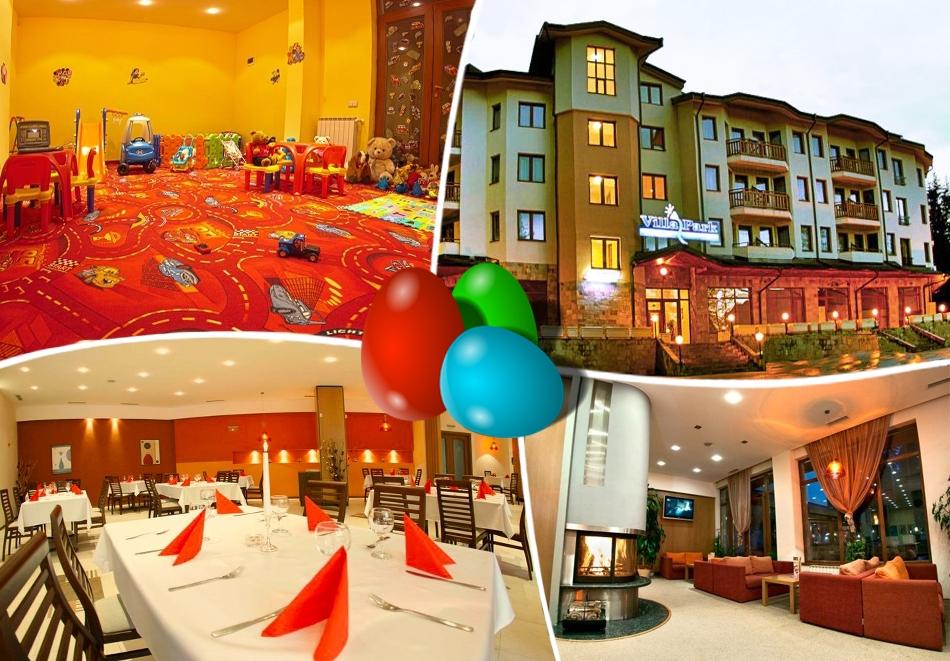 Великден в Боровец! 2 или 3 нощувки на човек със закуски + празнична вечеря в хотел Вила Парк