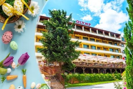 Великден във Велинград! 3 или 4 нощувки със закуски и вечери на човек + празнична програма, минерален басейн и СПА в Парк хотел Олимп****