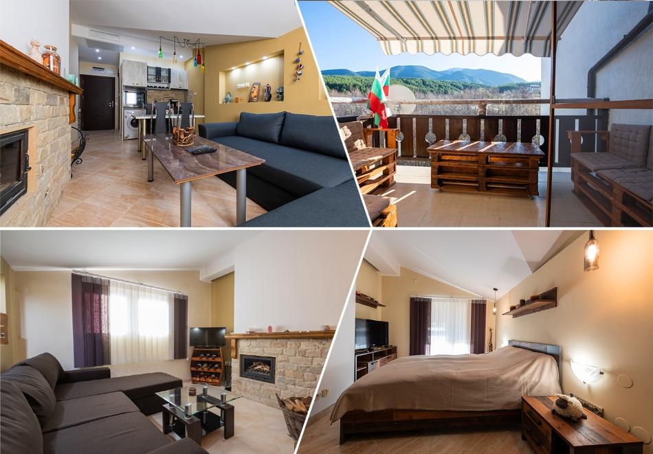Нощувка за четирима от апартаменти за Гости Ковачева, Банско