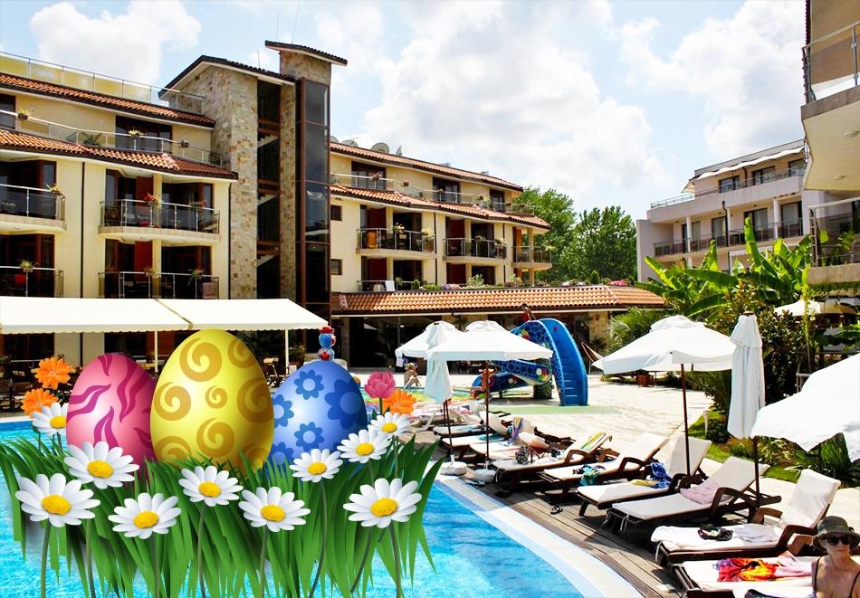 Великден и майски празници в Созопол! 3 или 4 нощувки на човек със закуски, обеди и вечери + напитки от хотел Лагуна Бийч Ризорт и СПА