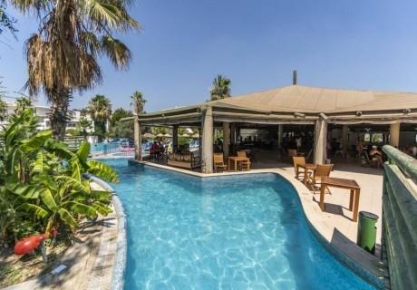 5 нощувки на човек на база All Inclusive + басейн с пързалки, собствен пясъчен плаж в хотел Ayaz Aqua****, Бодрум, Турция, от Ню Сън Травел